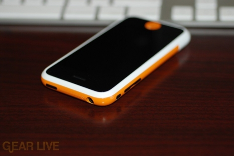 Gear Live iPhone Top Side