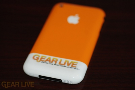 Gear Live iPhone Back full