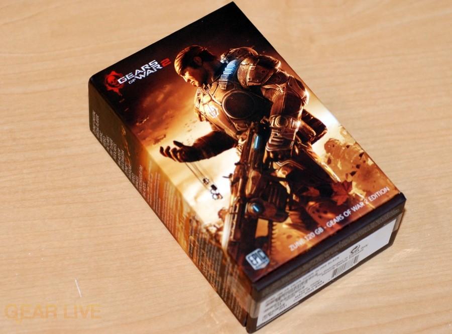 Gears of War 2 Zune box front