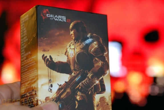 Gears of War 2 Zune box
