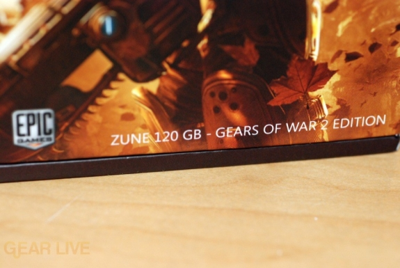 Gears of War 2 Zune box description