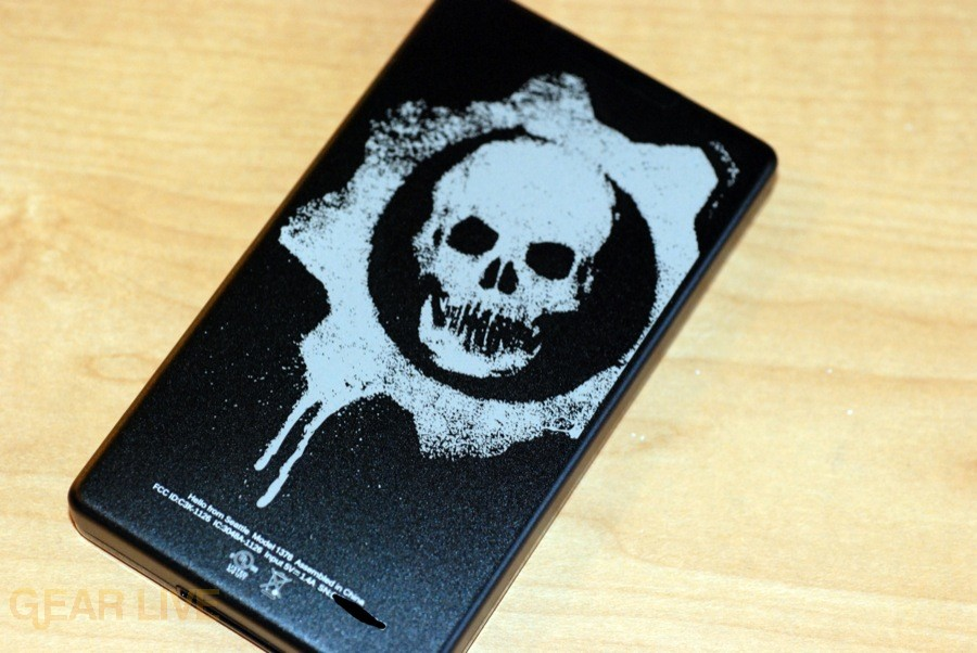 Gears of War 2 Zune back