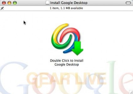 Google Desktop for Mac Installation