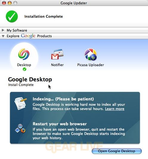 Google Updater Product Downloads