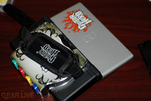 Guitar Hero DS grip back
