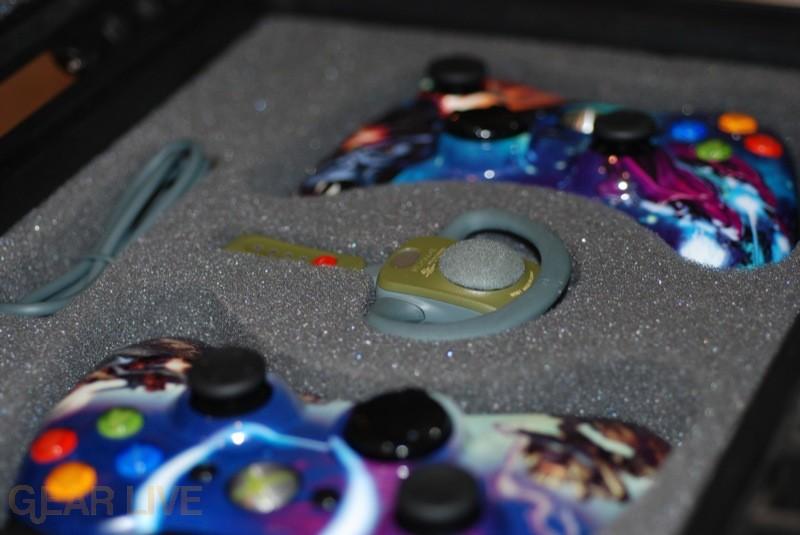 Halo 3 Accessories in the Briefcase