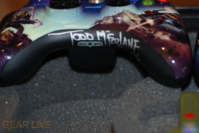 Xbox 360 Halo 3 Controller Signed by Todd McFarlane