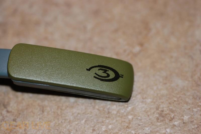 Halo 3 Briefcase: Halo 3 Logo on Wireless Headset