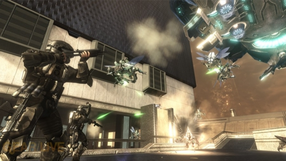 Halo 3: ODST Alphasite Firefight Map 2