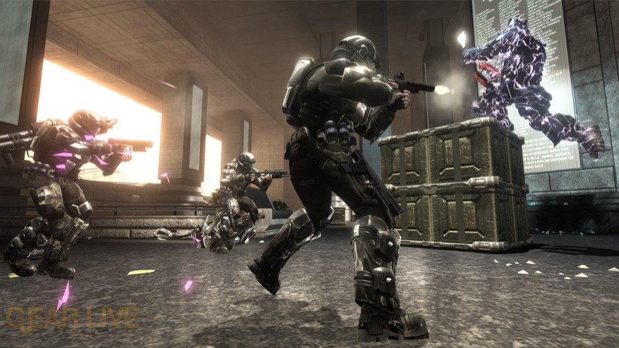 Halo 3: ODST Alphasite Firefight Map 3