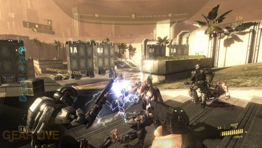 Halo 3: ODST Security Zone Firefight Map 3