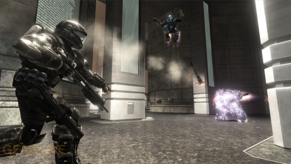 Halo 3: ODST Alphasite Firefight Map 4