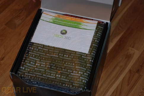 Opening the Xbox 360 Halo 3 Special Edition
