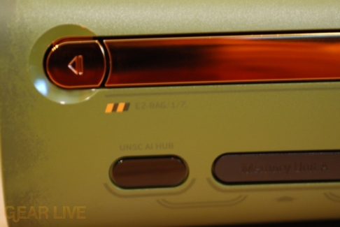 Close-up look at Halo 3 Xbox 360 Disc Tray