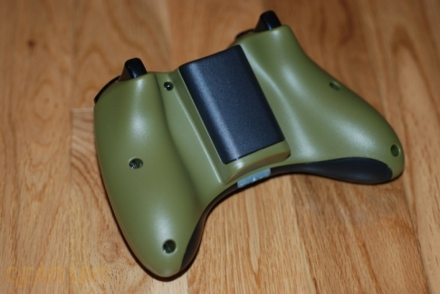 Halo 3 Xbox 360 Controller rear view