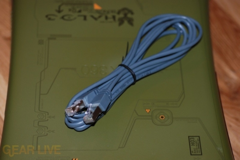 Halo 3 Xbox 360 Ethernet cable