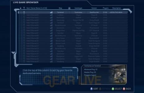 Dedicated Servers in Halo 2 Vista