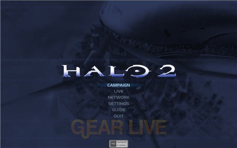 Halo 2 Main Menu