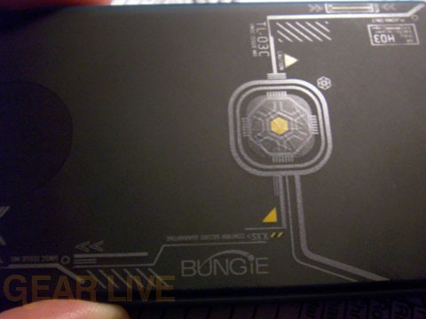 Halo 3 Zune Back Etching