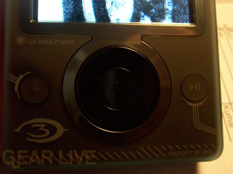 Halo 3 Zune Navigation Buttons