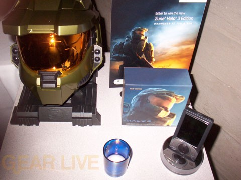 Halo 3 Zune with Halo 3 Legendary Edition