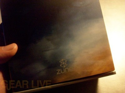 Halo 3 Zune Inner Box