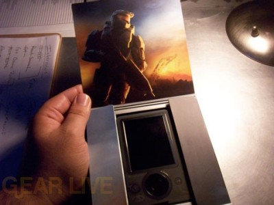 The Halo 3 Edition Zune Revealed