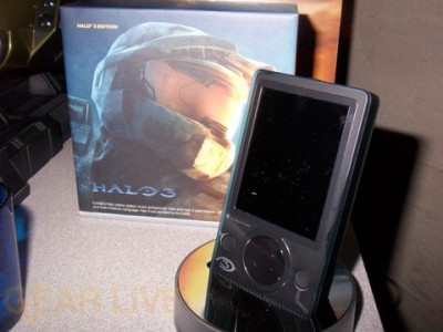 Halo 3 Zune - Completely Unboxed