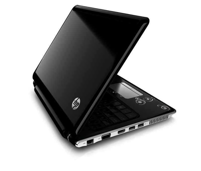 HP Pavilion dv2 Notebook left back
