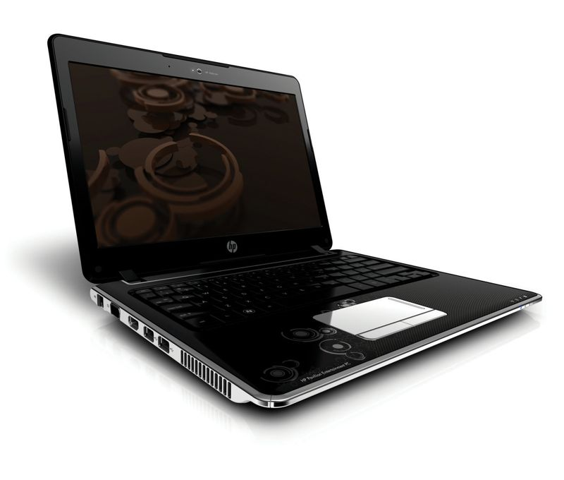 HP Pavilion dv2 Notebook left open