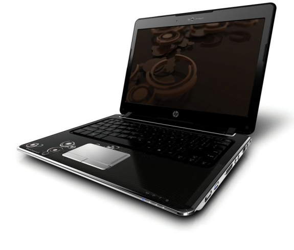 HP Pavilion dv2 Notebook right opened