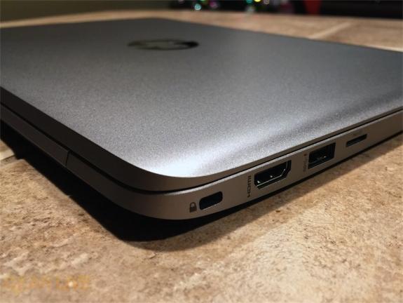 HP EliteBook Folio 1020: HDMI, USB 3.0, microSD slots