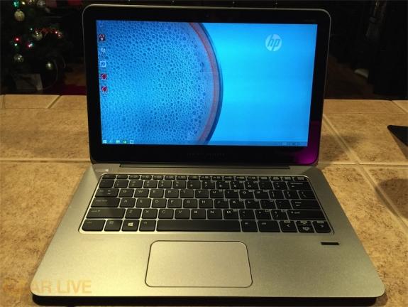 HP EliteBook Folio 1020 powered on