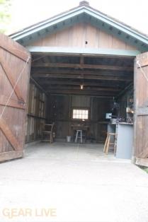 HP Garage Entrance
