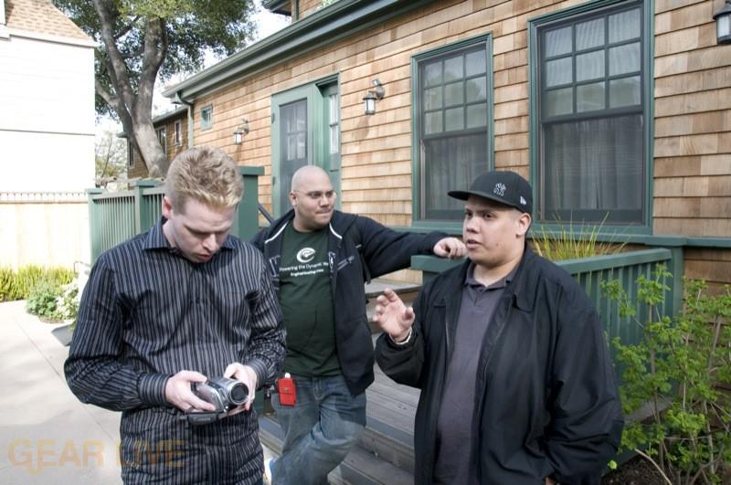 HP Garage: Rob McLaws, Andru Edwards, Michael Reyes