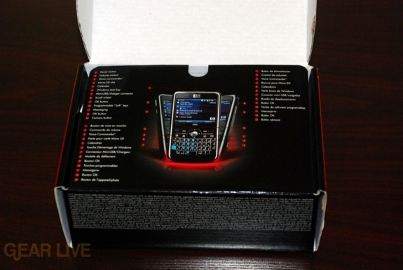 HP iPaq 914 box open