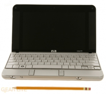 HP 2133 Mini-Note PC front view