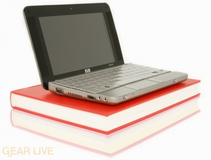 HP 2133 Mini-Note on books