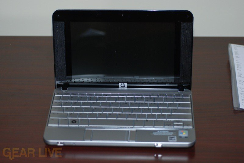 HP Mini-Note open