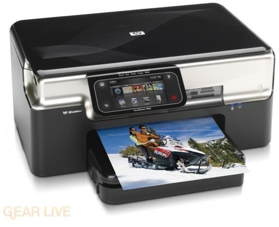 HP Photosmart Premium with Touchsmart Web 1
