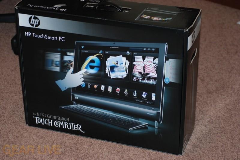 HP TouchSmart PC box
