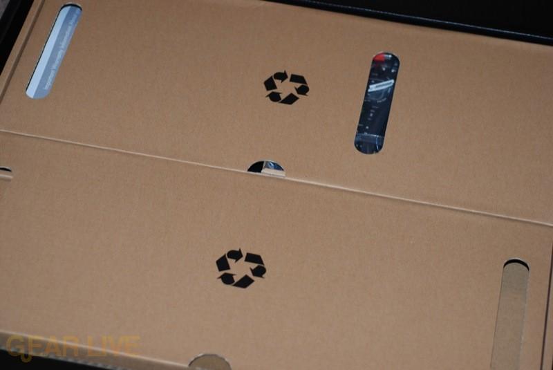 HP TouchSmart green packaging