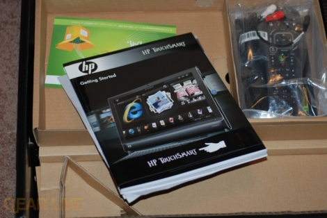 HP TouchSmart PC booklet