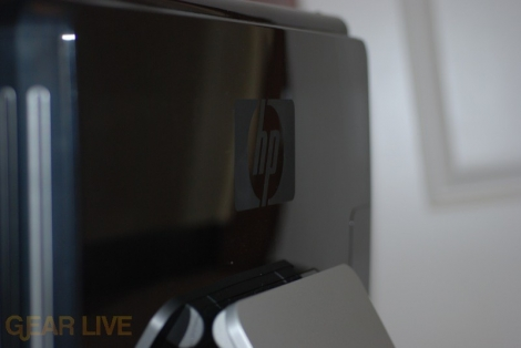 HP TouchSmart PC back