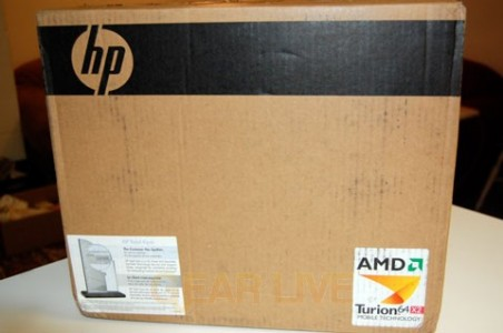 HP Pavilion TX1000 Arrives