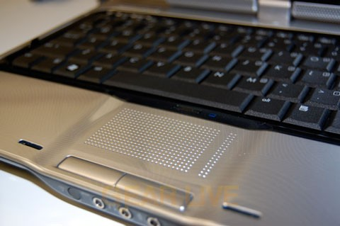 Touchpad and Keyboard