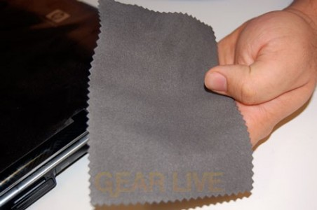 Included Screen Cleaner Cloth