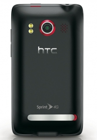 Sprint HTC EVO 4G smartphone 8.0 megapixel camera