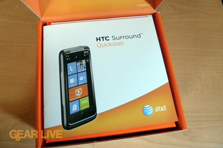 HTC Surround quick start guide