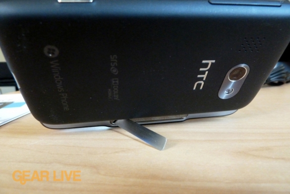 HTC Surround kickstand